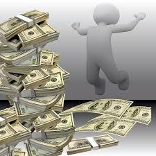 uomo denaro